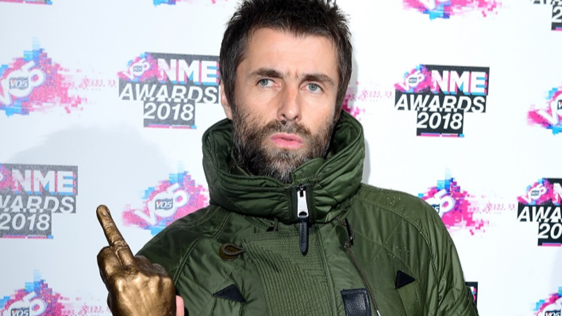 Liam Gallagher Went On A Three Day Bender After Winning Godlike Genius Award