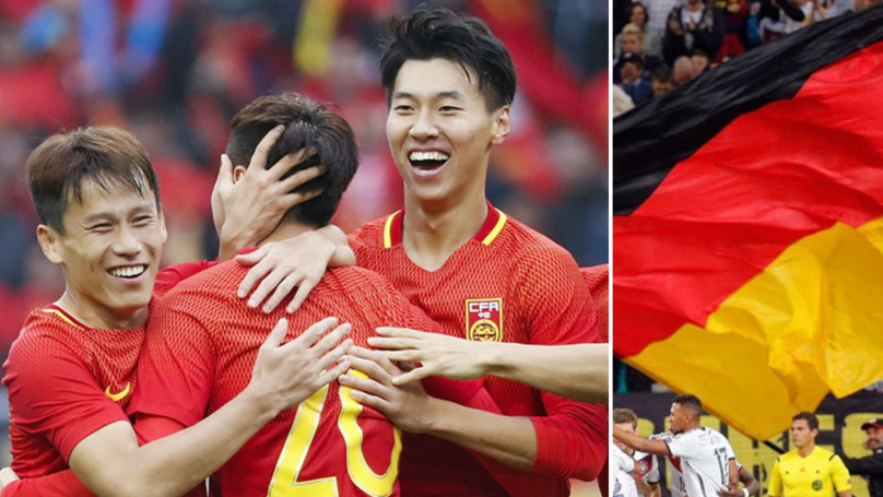 China Under 20's Set To Play In German Football Next Season | SPORTbible