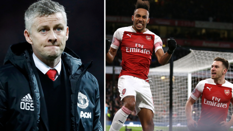 Ole Gunnar Solskjær Suffers First League Defeat After Arsenal Beat Manchester United