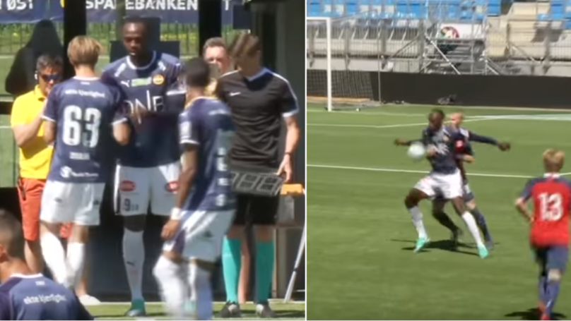 Usain Bolt's Individual Highlights From His Professional Debut Against Norway U19's