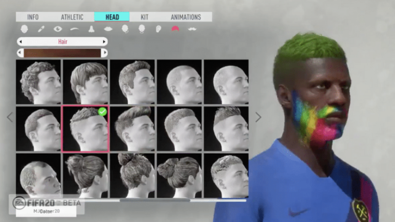FIFA 20 Pro Clubs Will Allow You To Customise Your Virtual Player Like Never Before