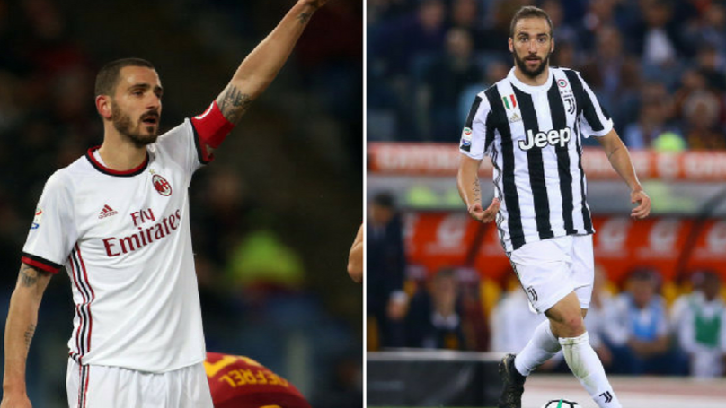 Juventus And AC Milan Considering Swap Deal With Leonardo Bonucci And Gonzalo Higuain