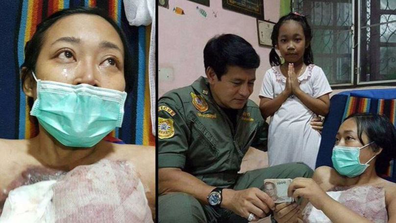 Husband Allegedly Abandons Wife After Terminal Breast Cancer Leaves Her Disfigured