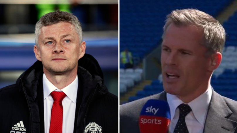 Jamie Carragher Names Two Players Manchester United Should Sell