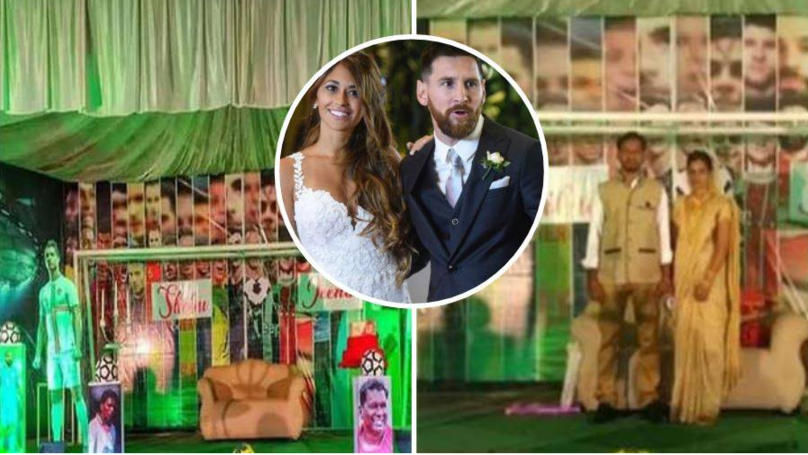 Lionel Messi Superfan Had His Wedding Day On Lionel Messi's Birthday