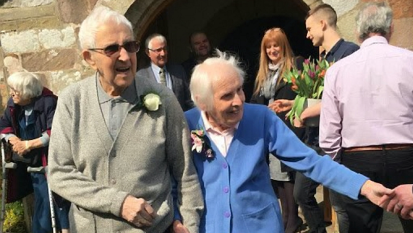 Couple Celebrate 75th Anniversary By Renewing Wedding Vows In The Same Church