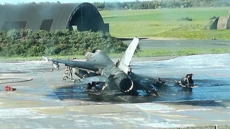 Mechanic Destroys F-16 Fighter Jet After Accidentally Opening Fire