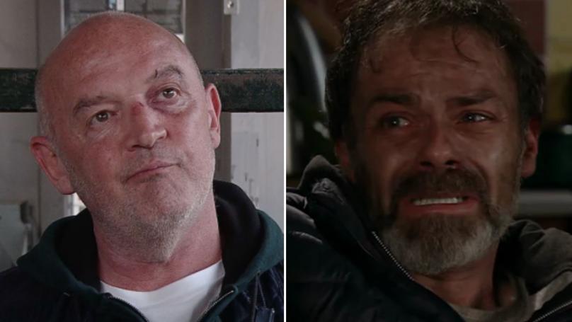 Fans Praise Corrie's Baddie Pat Phelan As He Scares Junkie Vicar Into Getting Help