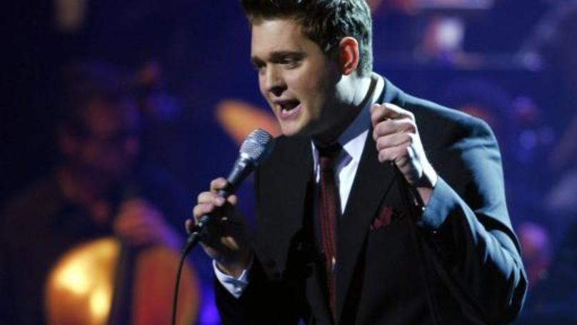 Michael Bublé Has Been Given The Photoshop Treatment