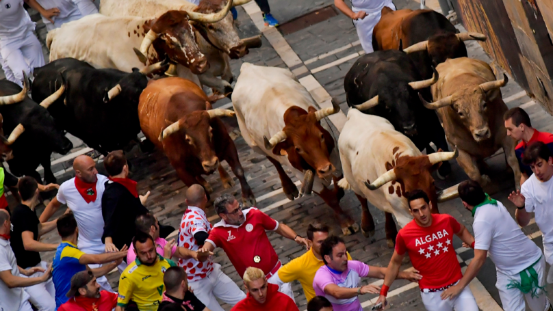 Five Taken To Hospital After Being Injured At Spanish Bull Running Event