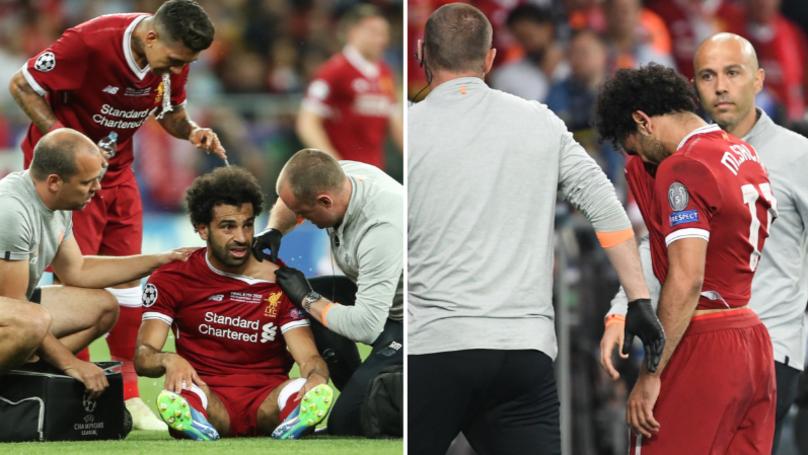 Mo Salah Opens Up On Champions League Final Injury