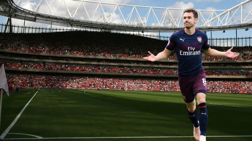 Aaron Ramsey Close To Joining European Giants