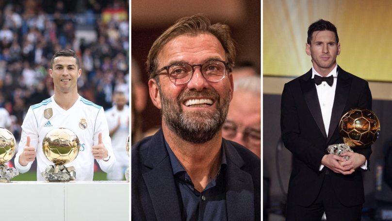 Jürgen Klopp Asked Who He Would Choose Out Of Cristiano Ronaldo Or Lionel Messi