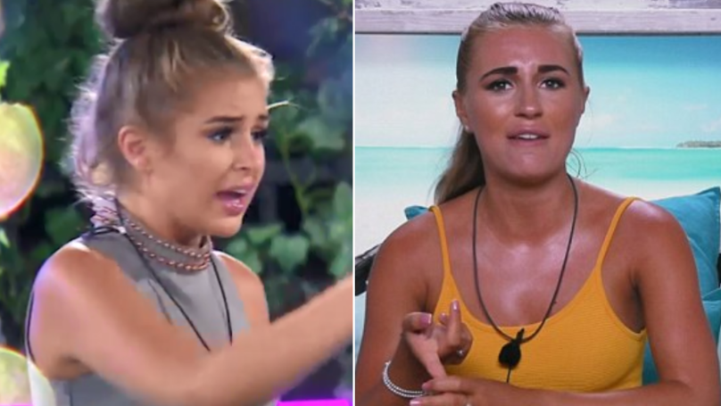 Love Island 2018: Twitter Is Convinced That Georgia Steel Threw A Drink Over Dani Dyer
