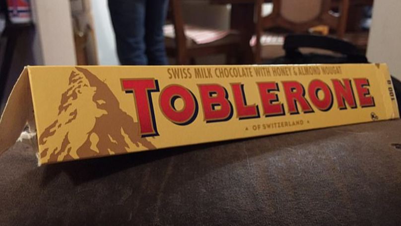 People Can't Believe They've Never Noticed The Hidden Picture In The Toblerone Logo