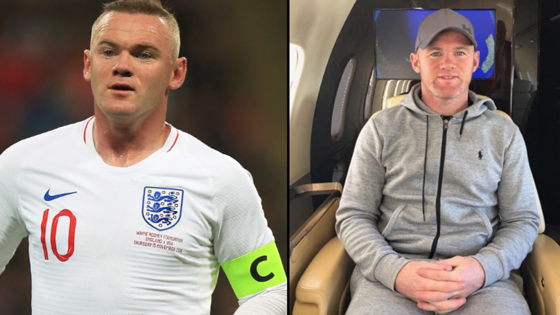 Wayne Rooney 'Arrested For Public Intoxication And Swearing'