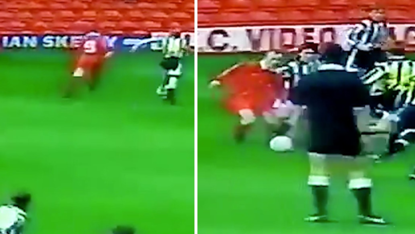Rare Footage Of A Young Wayne Rooney Scoring An Unbelievable Goal