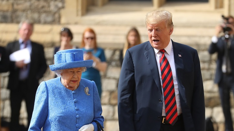 Has Donald Trump Been Lying About His Meeting With The Queen?