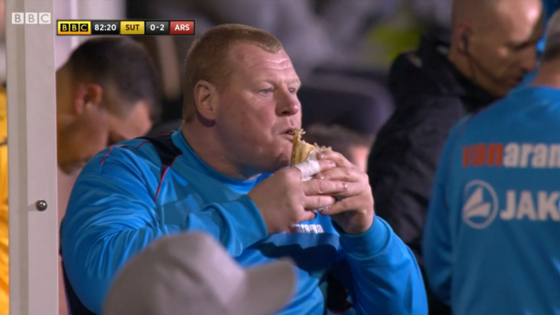 Former Sutton Goalkeeper Wayne Shaw Is Now 'Living The Dream' After 'PieGate'
