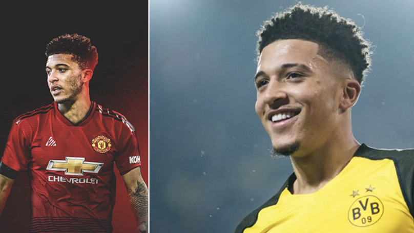 Manchester United 'Doing Everything' In Their Power To Sign Jadon Sancho From Borussia Dortmund