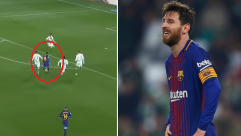 Watch: Messi's Majestic Performance Earns Standing Ovation From Entire Real Betis Crowd