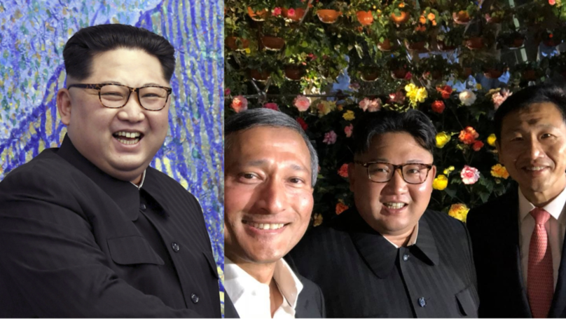 ​Kim Jong-Un Poses In What Looks Like First Ever Public Selfie