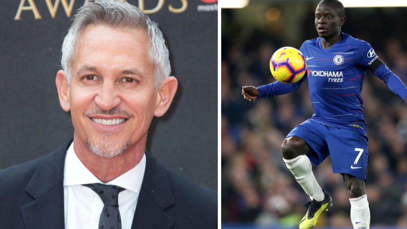 Gary Lineker Is Unhappy About N'Golo Kante's Chelsea Role