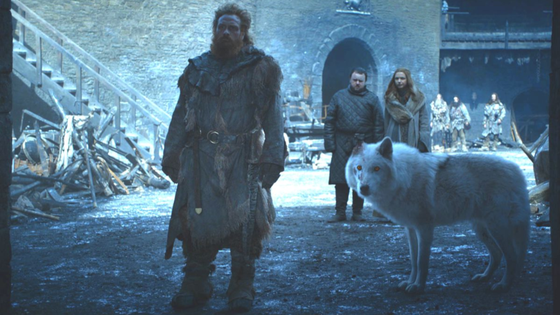 Game Of Thrones Fans Want A Spin-Off Show About Tormund And Ghost
