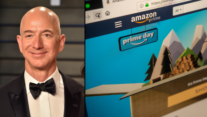Amazon CEO Jeff Bezos Becomes Richest Person On The Planet