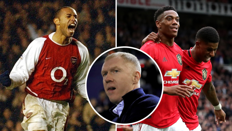 Anthony Martial Could Become 'Manchester United's Version Of Thierry Henry,' Says Paul Scholes