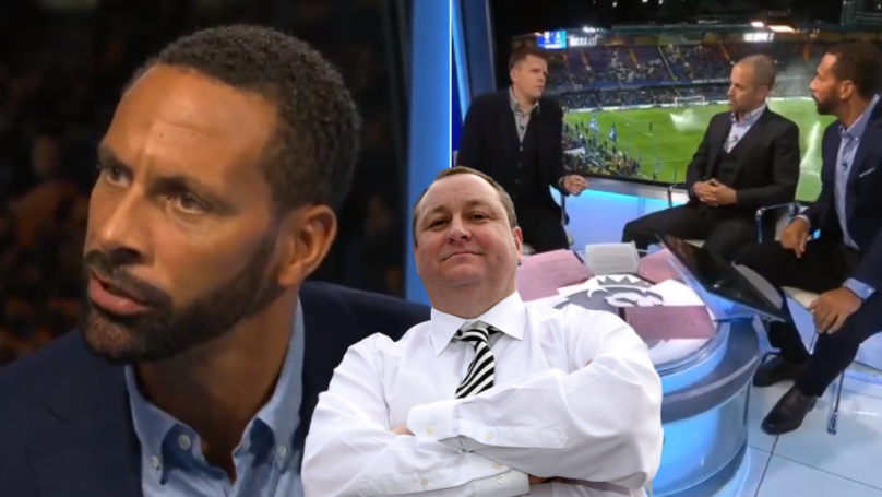 Rio Ferdinand Has Defended Newcastle Owner Mike Ashley And People Can't Believe It