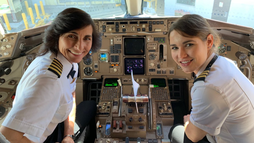 Mum And Daughter Pilot Team Go Viral For 'Inspiring Young Women'