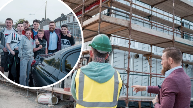 Conor McGregor Is Building Homes For Homeless Families In Dublin