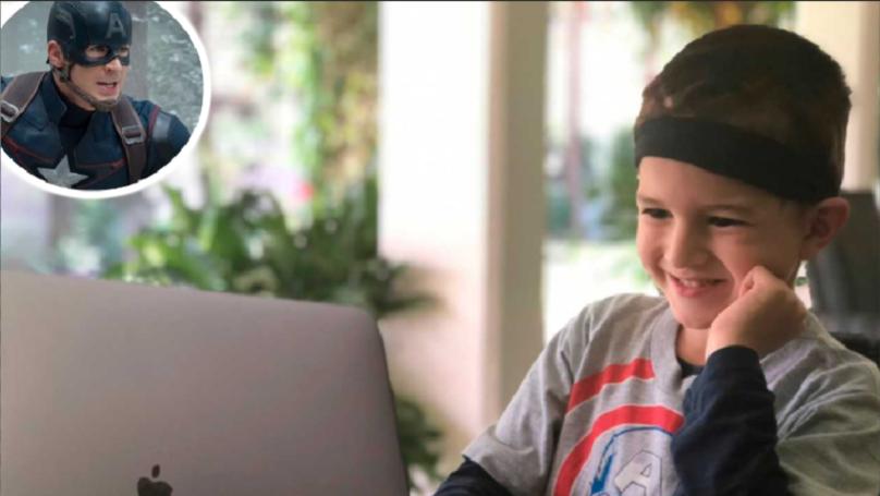 Chris Evans Invites Young LAD Battling Cancer To Avengers: Endgame Premiere