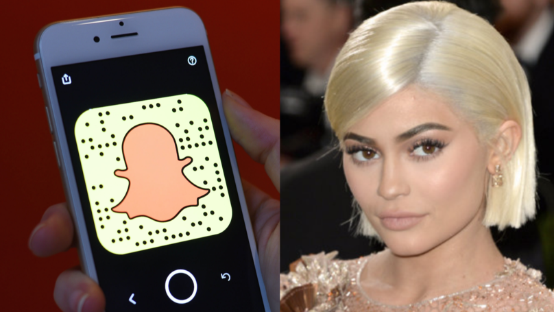 Facebook 'Share Price Rises' Following Kylie Jenner Snapchat Tweet
