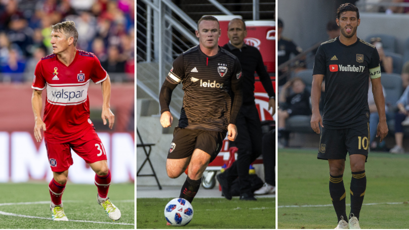 Wayne Rooney Comes In Fourth Place In MLS Shirt Sales List
