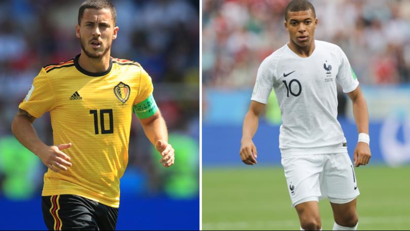 6da4e9cb44b Eden Hazard Gives Kylian Mbappe Some Incredible Praise Ahead Of  France-Belgium