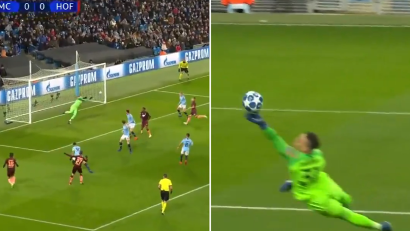 Manchester City's Ederson Produces Unbelievable Fingertip Save In The Champions League