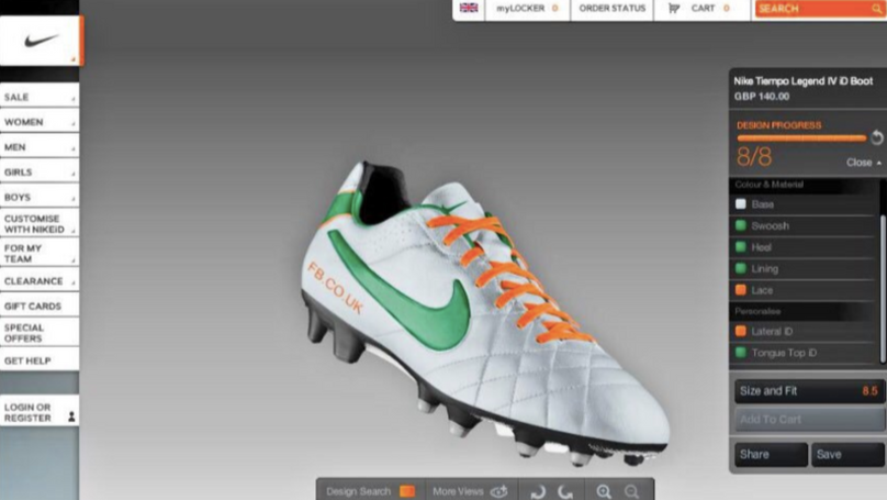 Remembering When You Spent Every Lesson Customising Football Boots On Nike iD