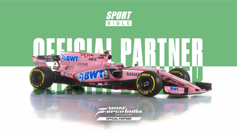 SPORTbible Announce Partnership With Sahara Force India