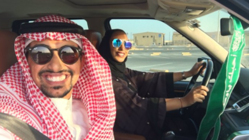 Saudi Man Causes Outrage And Praise For Posting Picture Of Wife Driving