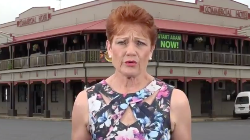 Pauline Hanson Says Climate Change Isn't Real Because Humans Didn't Kill The Dinosaurs