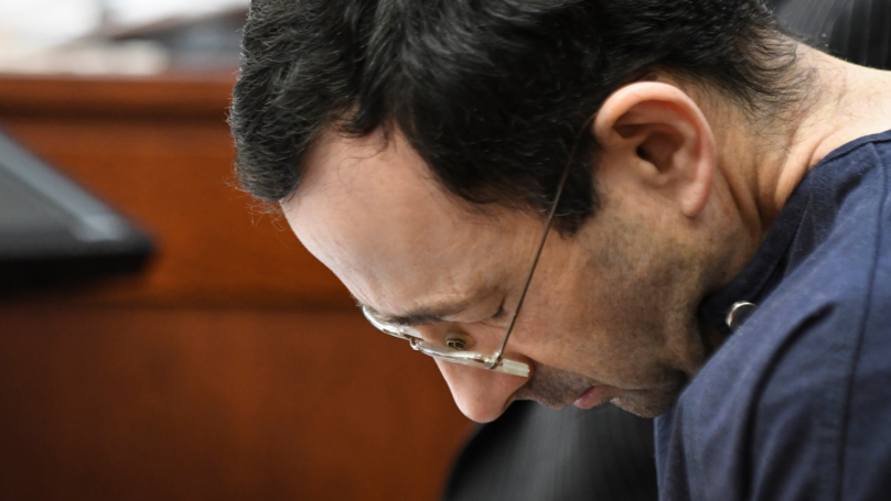 Courtroom Erupts Into Laughter As Larry Nassar Claims He Was 'Manipulated'