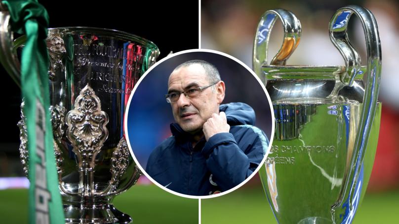 EFL Cup Final Is Harder To Reach Than The Champions League Final, Maurizio Sarri Claims