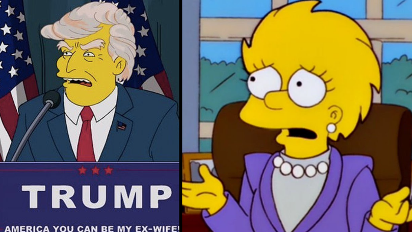 'The Simpsons' Writer Explains Why They Predicted Trump For President