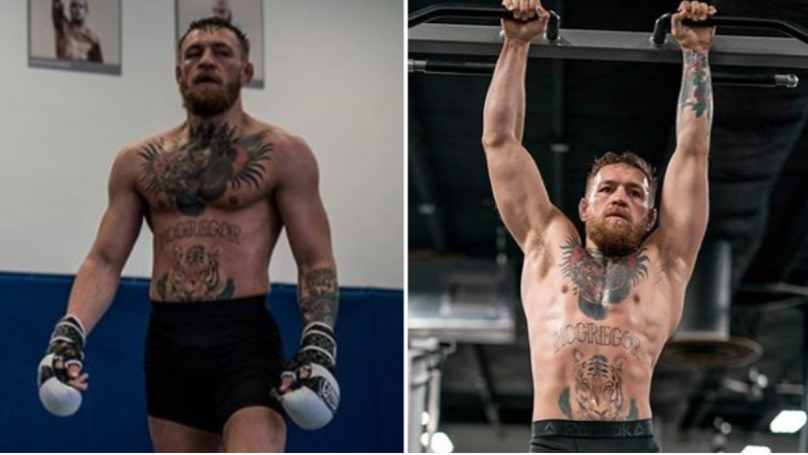 Conor McGregor Declares He Means Business In UFC Lightweight Division