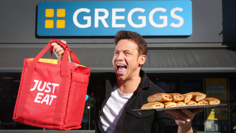 You Can Now Get Greggs Delivered To Your Door On Just Eat