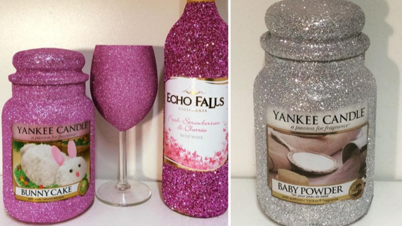 This Company Is Selling Glittery Yankee Candles And They're So Pretty