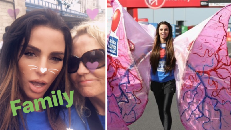 Katie Price Blames Heavy Costume For Making Her Pull Out Of London Marathon