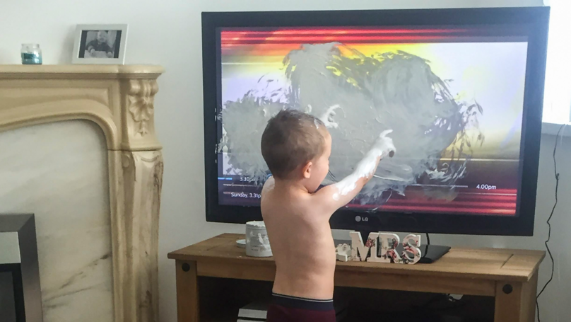 Mum 'Puts Son Up For Sale' After He Smears TV With Antiseptic Cream